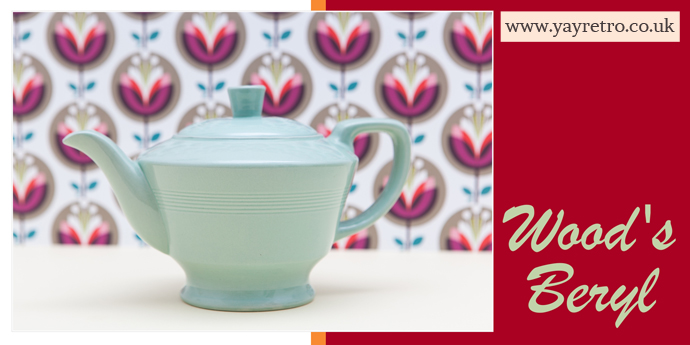 Woods Ware Beryl Teapot found for customer by yay retro! online replacement china and collectibles shop