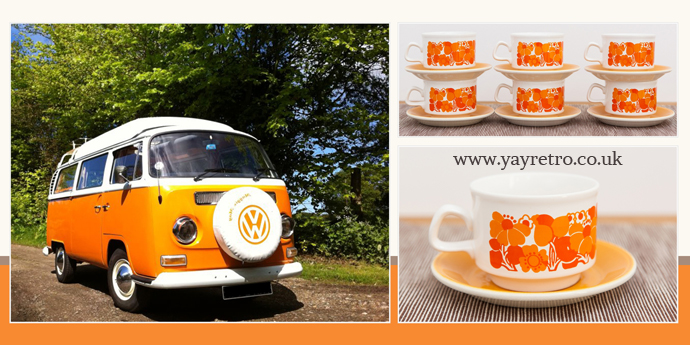 Retro Cmapers Norfolk recommend yay retro! for vintage china, tea cups and saucers for your home and camper van