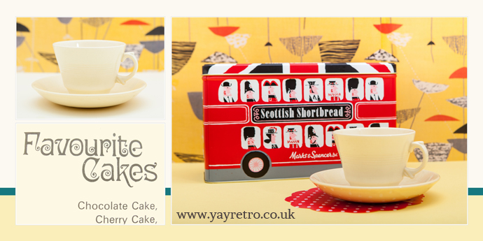 yay retro! based in the UK, happy to ship our vintage china, kitchen and tableware overseas to America, Australia and Europe