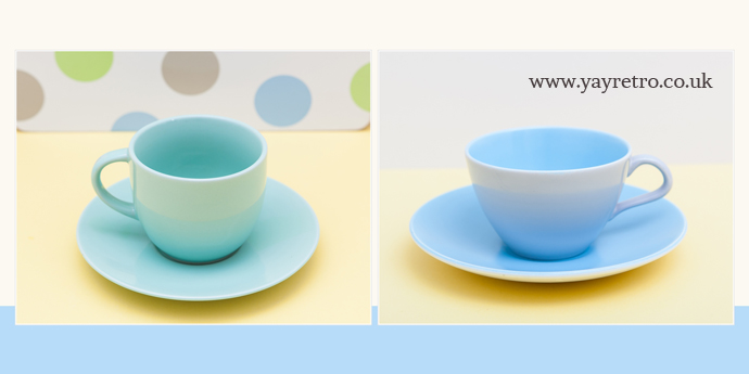 new cups and saucers vs retro vintage tea sets yay retro online shop