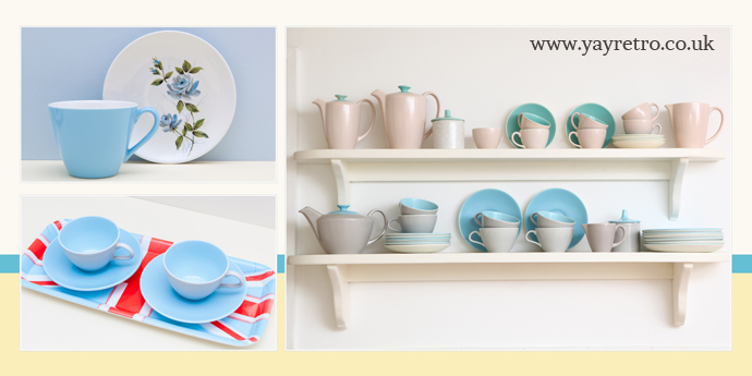 yay retro vintage Poole Potttery replacement and china collectors website yay retro!