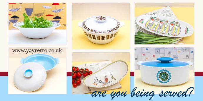 vintage serving dishes and tureens from yay retro! online china shop