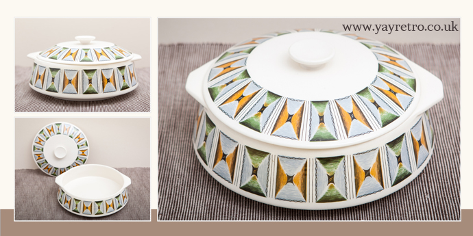 Lord Nelson Oasis Serving Dish or Tureen from yay retro! online shop