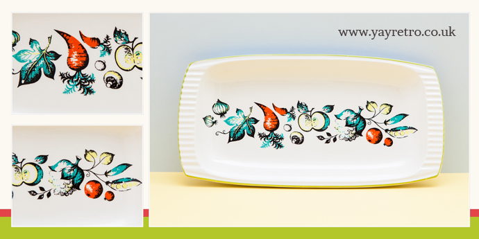 Royal Norfolk Vintage Sandwich Tray from yay retro! online shop for retro china and kitchenalia