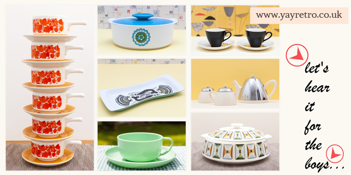 vintage china gift ideas for men from yay retro! online vintage china and replacement china shop