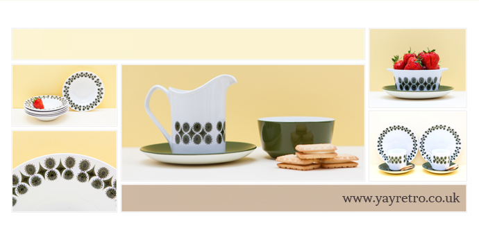 Retro Camelot China from Johnson Brothers at yay retro! replacement china and collectors shop