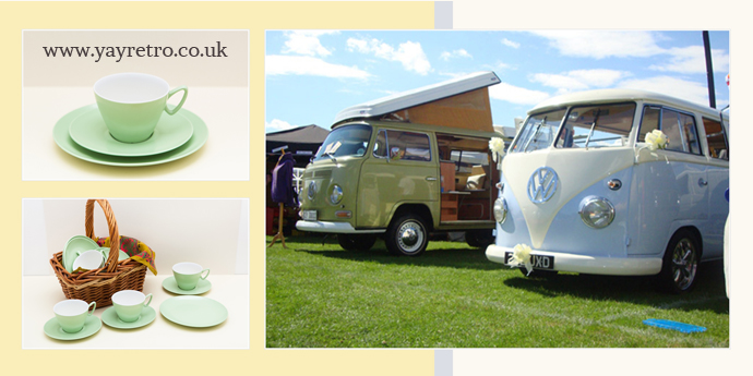 Dorset Dubhire and yay retro! online vintage china and melamine shop make friends