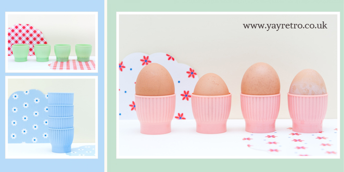 vintage egg cups from yay retro! perfect for retro camper vans