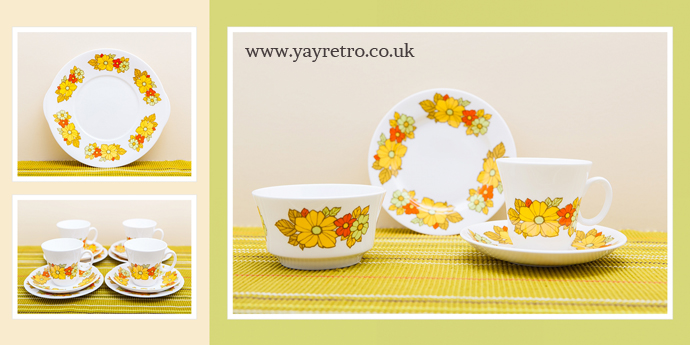 Vintage fine bone china tea set from yay retro! online china shop