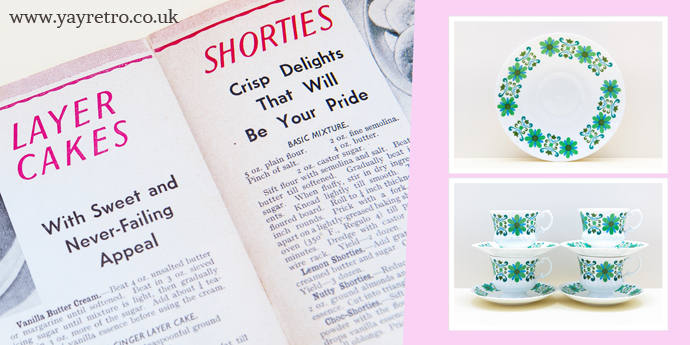 Vintage china for retro tea parties and weddings from yay retro!