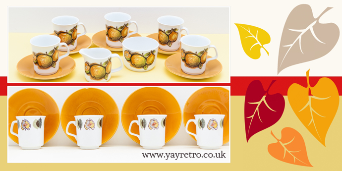 retro halloween from yay retro! online vintage china shop