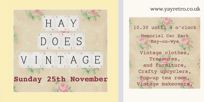 When is Hay Does Vintage? Find out at yay retro!