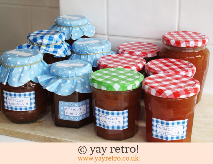 Apricot Jam recipe from yay retro!