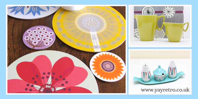 jenny duff table mats look great on yay retro blog