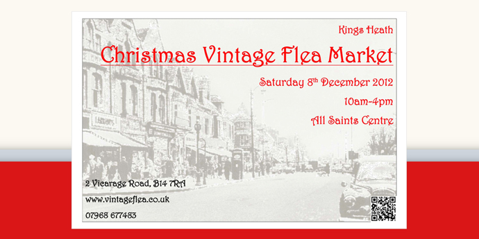 When is Kings Heath Christmas Vintage Market?