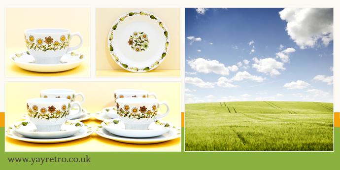 Alfred Meakin Meadowsweet china from yay retro! online china shop