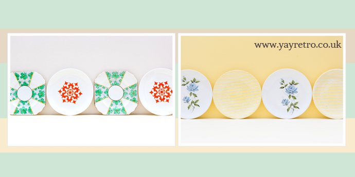 Plates for display or use from yay retro! - great for welsh dressers!