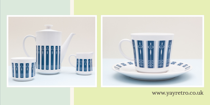 Noritake Progression China. Japan Pacific 9010. from yay retro! online china shop