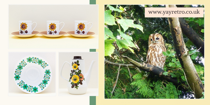 floral vintage china for nature lovers from yay retro!