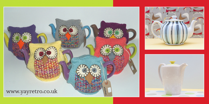 Owl tea cosies from made by Me on yay retro!'s blog
