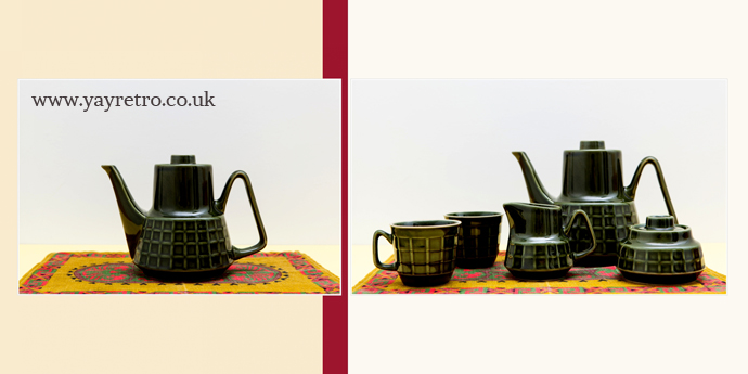 Stunning Pruszkow Vintage coffee set from yay retro! online vintage china shop