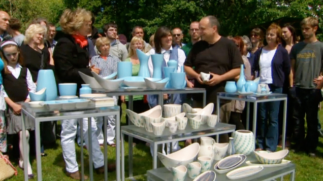 Poole Pottery collector on BBC Antiques Roadshow Dec 12