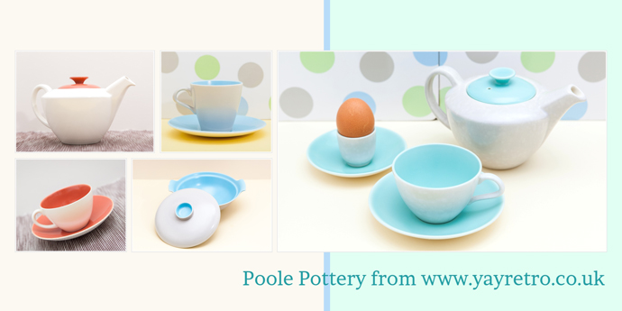 buy Poole Pottery from yay retro!