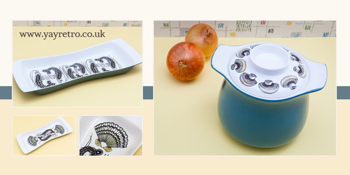 Poole Lucullus Oven to tableware from yay retro! fabulous gift ideas