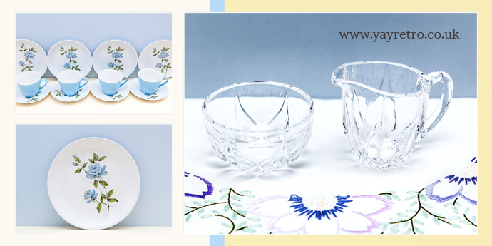 Pretty vintage teasets and tableware from yay retro! online retro china shop