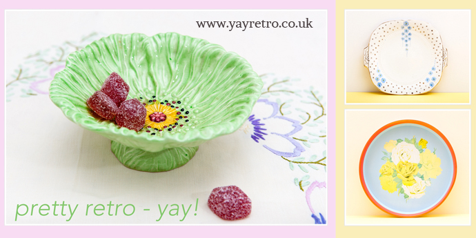 Pretty vintage and retro items at great prices - yay retro!