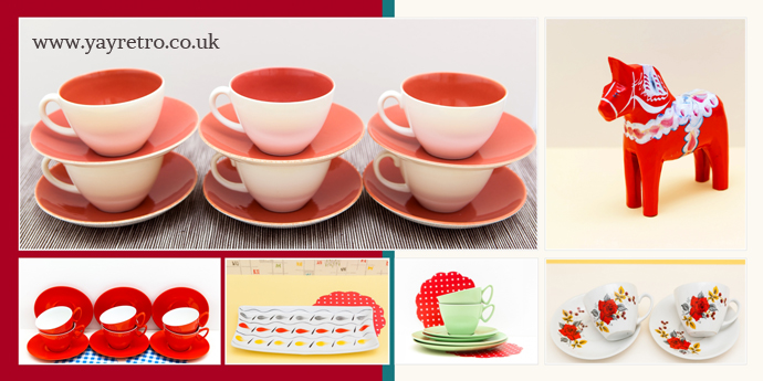 Great Christmas ideas from yay retro! online vintage china shop selling Poole, meakin, Grindley, H&K Tunstall