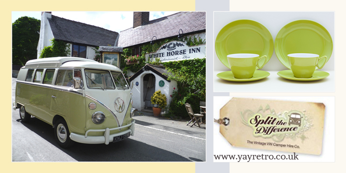 campervan Jessie from split the difference likes yay retro! online vintage shop for melamine and china