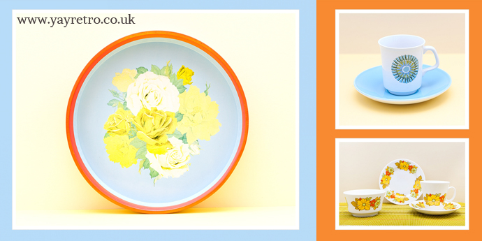 Great condition vintage china and kitchenalia at low prices from yay retro!