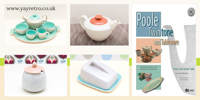 Anne Wilkinsons book on Twintone Poole Pottery features on yay retro! website