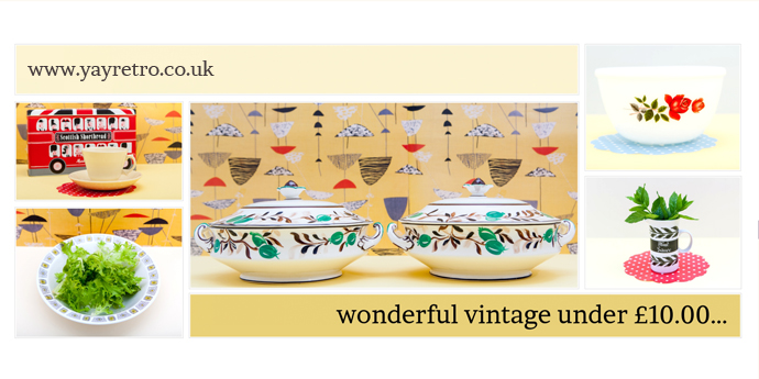 vintage china from yay retro! shop for under ten pounds!