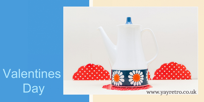 Figgjo Flint Turi Design Daisy Coffee pot in excellent condition from yay retro! now