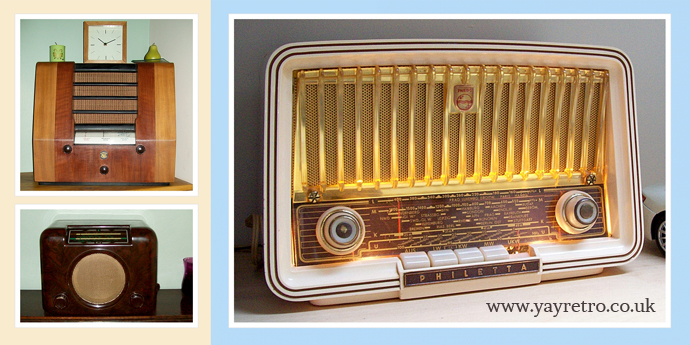 Valve Radios feature on yay retro! vintage website