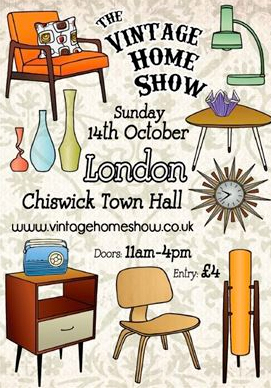 The Vintage Home Show London 14 October 2012