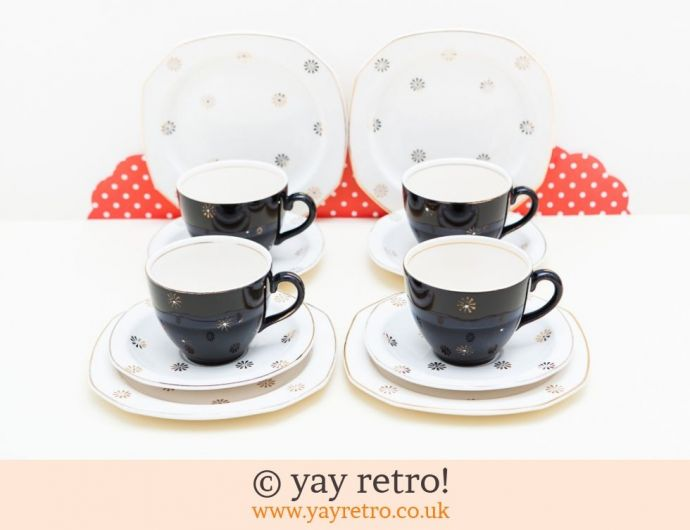 1950s Black Tea Sets For Sale Vintage Shop Retro China