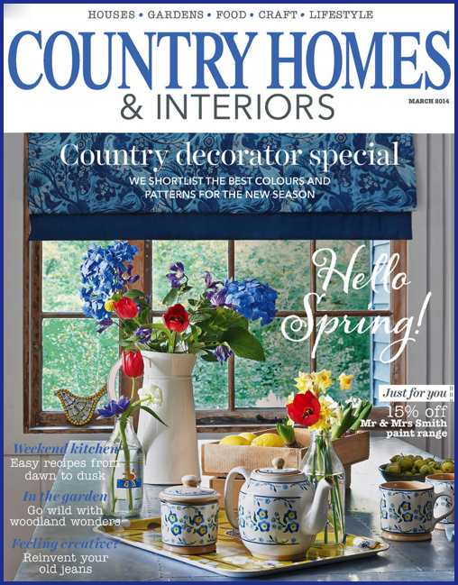 yay retro items feature in country homes interiors magazine