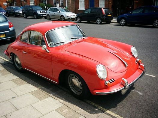 Stunning 60s Red Porsche Spotted! - Vintage Shop, Retro China ...