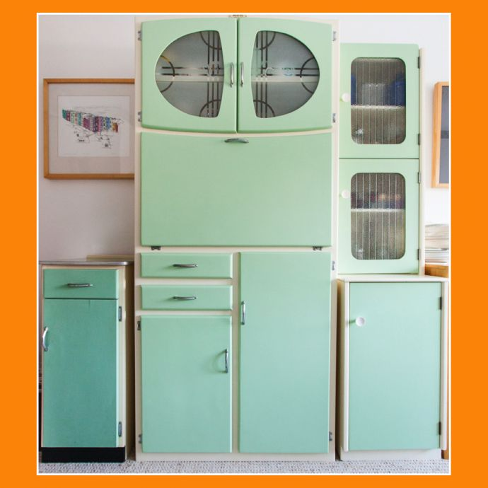 we love vintage kitchen larder units vintage shop retro