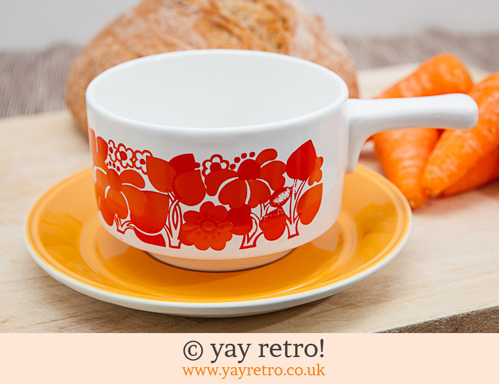 70's Soup Bowls and Plates (£)