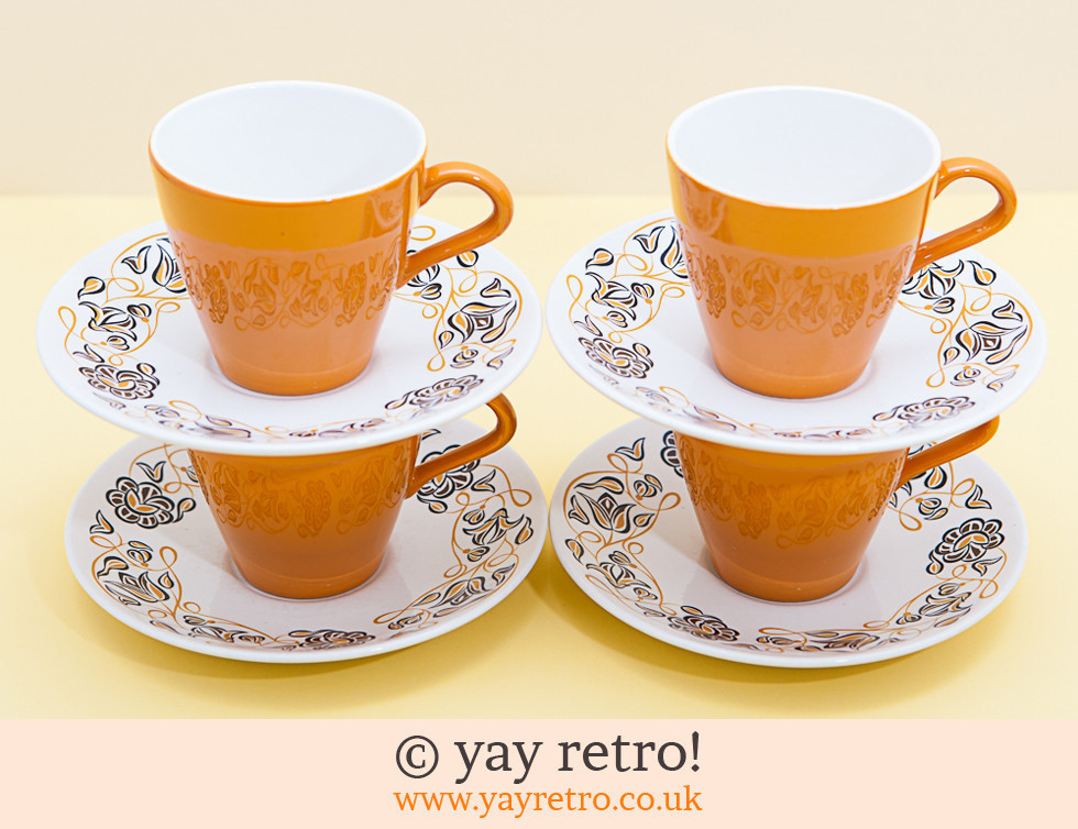 Desert Song Cups and Saucers (£)