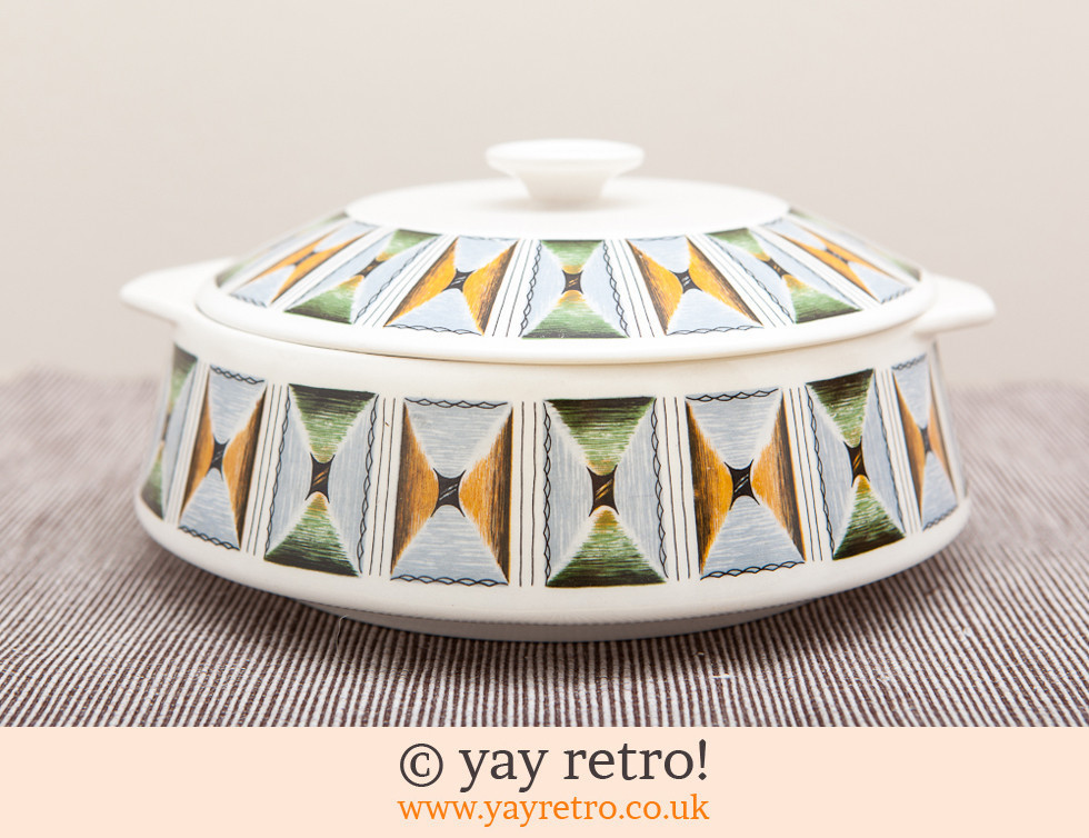 Lord Nelson: 1950s/60s Funky Lidded Dish (£8.00)
