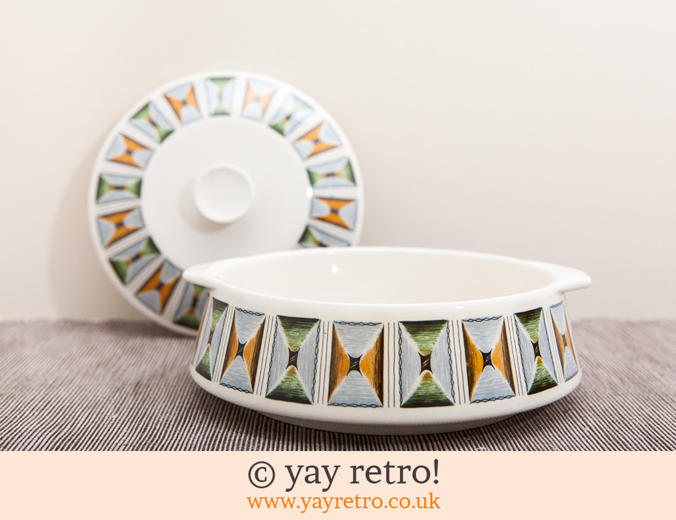 1950s/60s Funky Lidded Dish (£8.00)