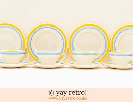 48: Beautiful Art Deco Teaset (£38.00)
