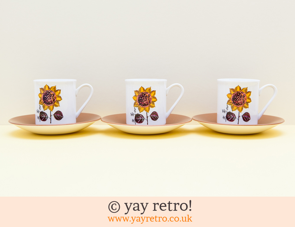 Lord Nelson Pottery: Sunflower Trio (£15.00)