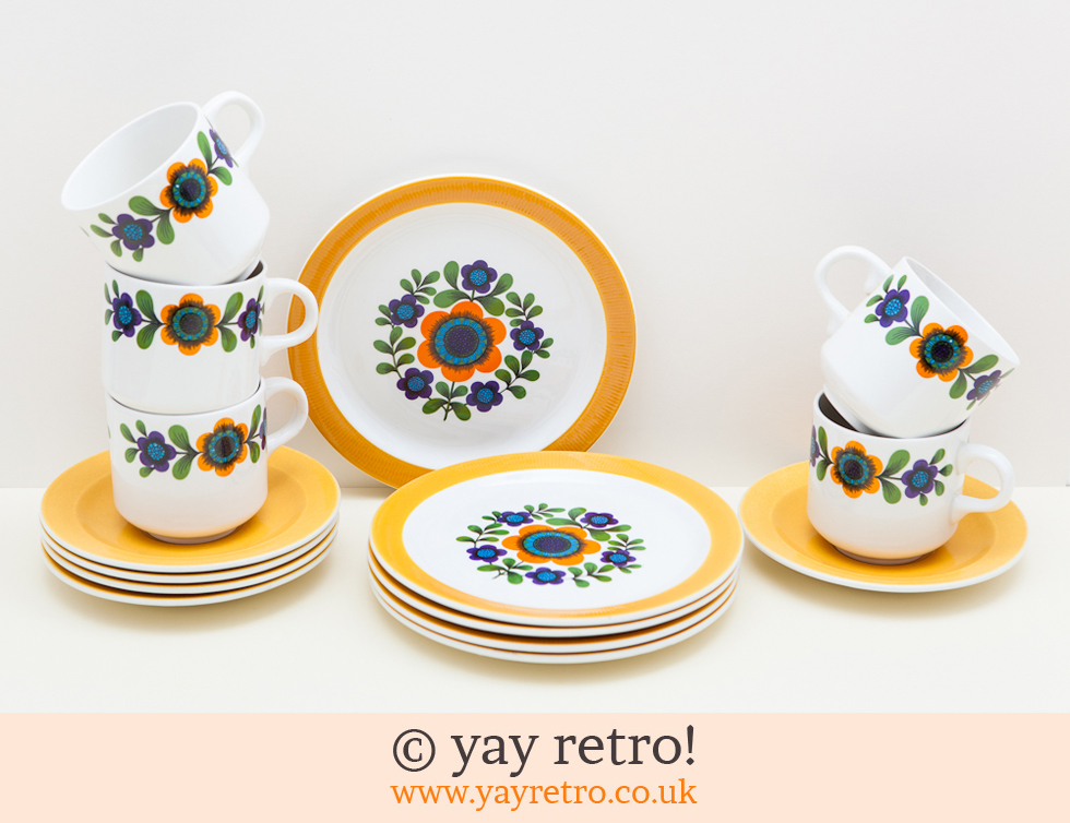 Wow Factor 70s teaset (£)