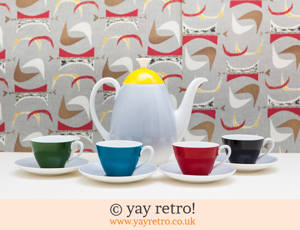 Adderley : Fiesta Coffee Set (£)